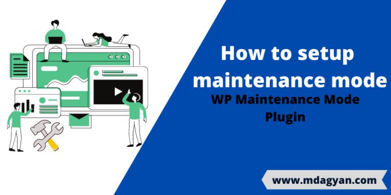 How to setup maintenance mode