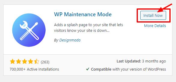 How to setup maintenance mode