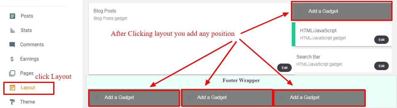 How to add Amazon affiliate banner on blog post in Blogger